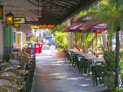 Outdoor Restaurant St Armands Circle